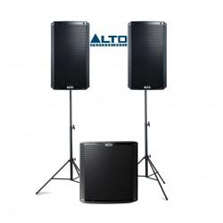 Zestaw nagłośnieniowy ALTO 2+1: 2 x TS 215 + 1 x TS 218s