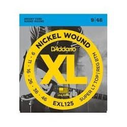 D Addario EXL125 struny do gitary elektrycznej 9-46