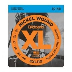 D Addario EXL110 struny do gitary elektrycznej 10-46