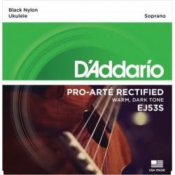 D'Addario Pro-Arte Rectified EJ53S - Struny do ukulele sopranowego