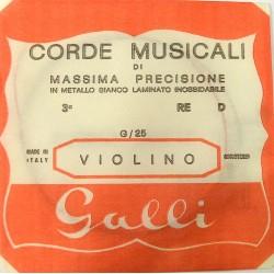Galli G-025 - pojedyncza struna do skrzypiec D-3