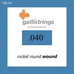 Galli NR040 - pojedyncza struna do gitary basowej