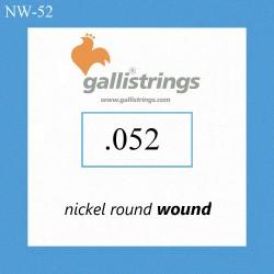 Galli NW052 - pojedyncza struna do gitary elektrycznej