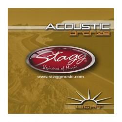 Stagg AC 1254 BR - struny do gitary akustycznej