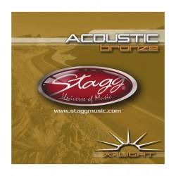 Stagg AC 1048 BR - struny do gitary akustycznej