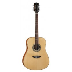 Luna Muse Dreadnought Natural - gitara akustyczna