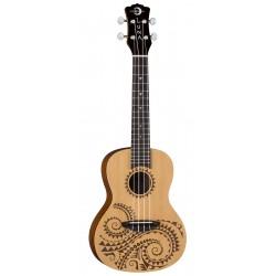 Luna Uke Tattoo Spruce Concert - ukulele koncertowe