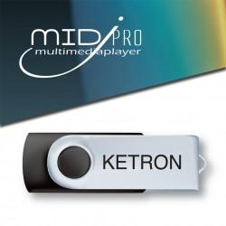 Ketron Pendrive 2016 MidJPro Style Upgrade v4 - pendrive z dodatkowymi stylami