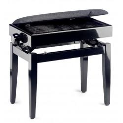 Stagg PB55 BKP VBK - ława do pianina ze schowkiem