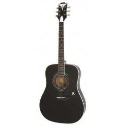 Epiphone PRO-1 Plus Ebony EB Gitara akustyczna 4/4