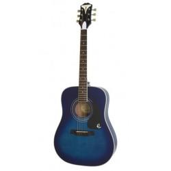 Epiphone PRO-1 Plus Trans Blue TL Gitara akustyczna 4/4