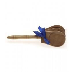 Stagg CAS N - kastaniety drewniane z rączką