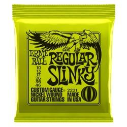 Ernie Ball 2221 NC Regular Slinky struny do gitary elektrycznej 10-46