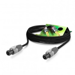 Sommer Cable ME25-225-1000-SW - kabel głośnikowy 10m